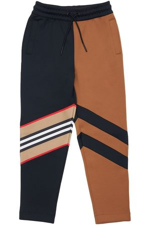 Burberry Boys Sweatpants - Color Block Tech Track Pants