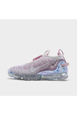 Nike Women's Air VaporMax 2020 Flyknit Running Shoes in Grey/Violet Ash Size 5.5