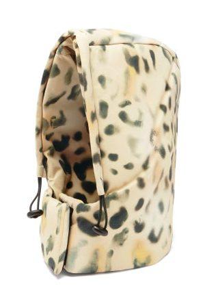Kassl Editions Tec Leopard-print Drawstring Hood - Womens - Leopard