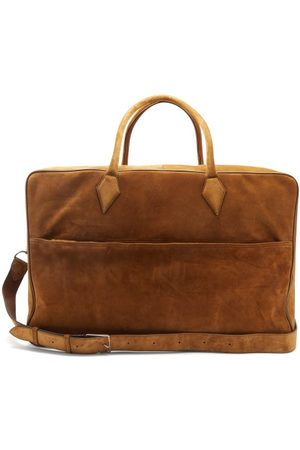 Métier Closer Large Suede Weekend Bag - Mens