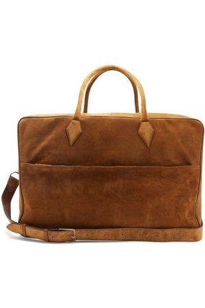 Métier Men Luggage - Closer Large Suede Weekend Bag - Mens