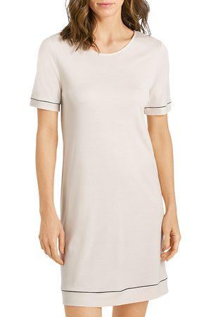 Hanro Natural Comfort Short Sleeve Nightgown