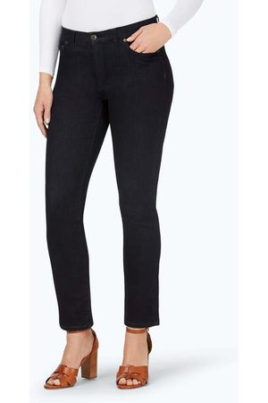 Foxcroft Women Straight - The Downtown Straight Leg Stretch Jeans