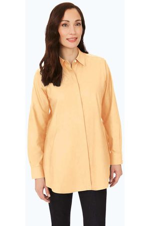 Foxcroft Cici Essential Pinpoint Non-Iron Tunic