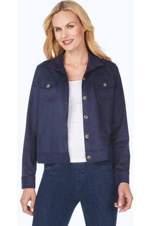 Foxcroft The Getaway Faux Suede Jacket