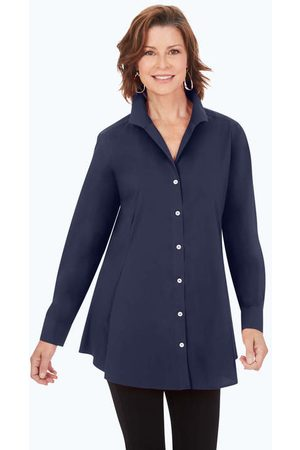 Foxcroft Women Tunics - Cecilia Stretch Non-Iron Tunic