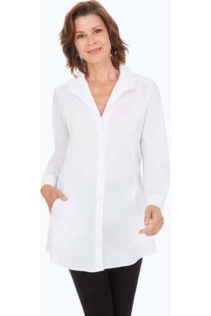 Foxcroft Women Tunics - Cecilia Petite Stretch Non-Iron Tunic
