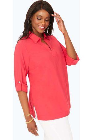 Foxcroft Women Tunics - Addie Plus Non-Iron UPF Tunic