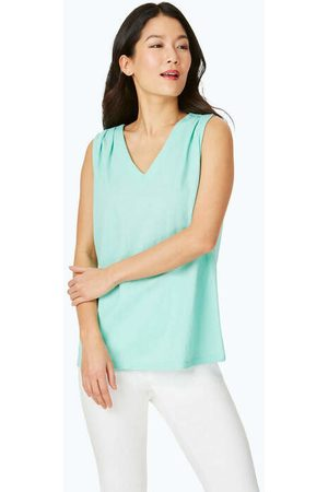 Foxcroft Celine Polished Knit Tank Top