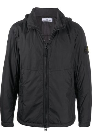 Stone Island Zip-up hooded parka