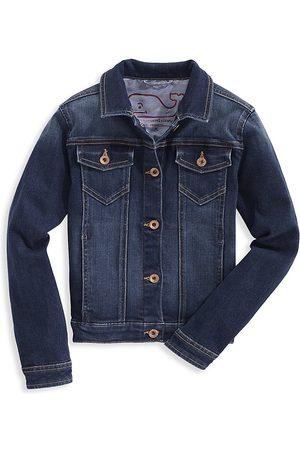 Vineyard Vines Little Girl's & Girl's Denim Jacket - - Size XL (16)