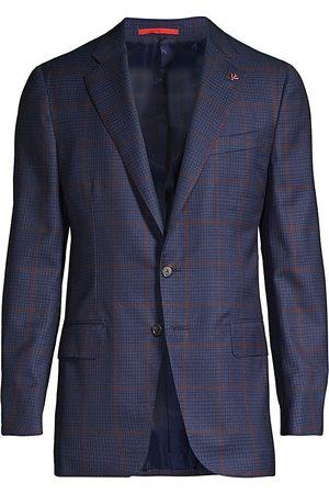 ISAIA Men's Delain Selection Plaid Sportcoat - - Size 50 (40) R
