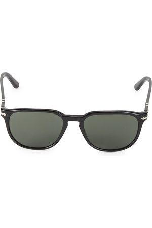 Persol Men's 51MM Wayfarer Sunglasses - Cristal Grey