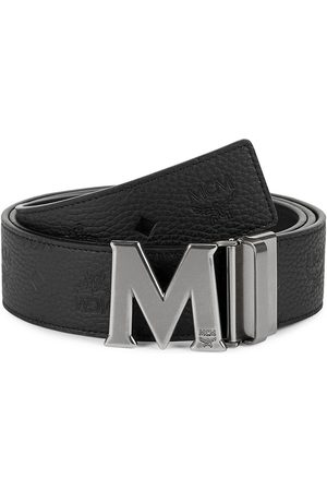 MCM Men's Clause Reversible Leather Belt