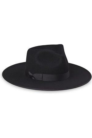 Lack of Color Women's Noir Wool Rancher Hat - - Size S
