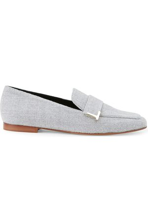 Lafayette 148 New York Women's Eve Square-Toe Cashmere Loafers - - Size 41 (11)