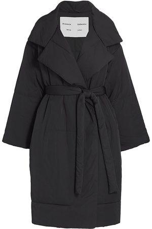 PROENZA SCHOULER WHITE LABEL Women's Matte Puffer Jacket - - Size XS
