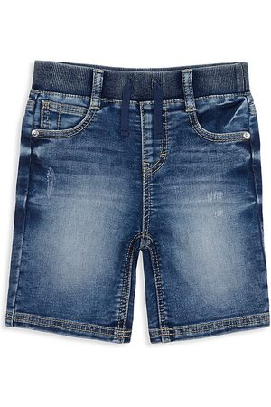 Peek & Beau Little Boy's & Boy's Robert Pull-On Denim Shorts - - Size 6-7
