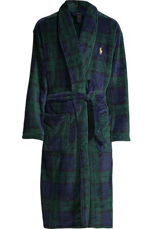 Polo Ralph Lauren Men's Plaid Shawl Collar Robe - - Size Small/Medium