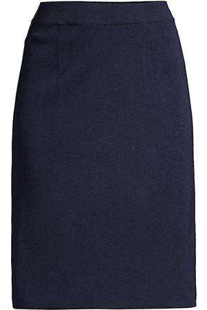 Misook Straight Knit Skirt