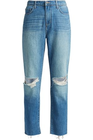 L'Agence Women's Bridget High-Rise Slouch Straight Jeans - - Size 30 (8-10)