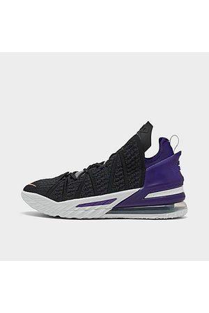 Nike Men Basketball - Men's LeBron 18 Basketball Shoes in Size 10.0 Knit