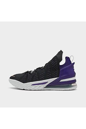 Nike Men's LeBron 18 Basketball Shoes in Size 8.0 Knit