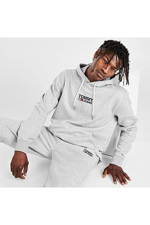Tommy Hilfiger Men's Lenny Hoodie in Grey Size Small Cotton/Polyester/Fleece