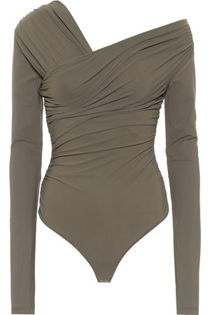 Goldsign Fonteyn off-shoulder jersey bodysuit