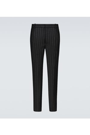 Alexander McQueen Slim-fit pinstriped pants