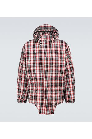 Burberry Diamond quilted cut-out hem parka