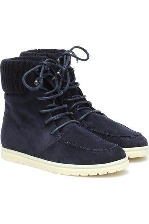 Loro Piana Ontario suede ankle boots