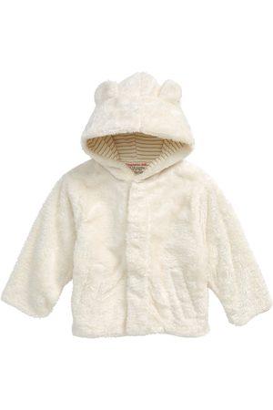 Magnetic Me Infant Girl's Minky Fleece Hooded Jacket