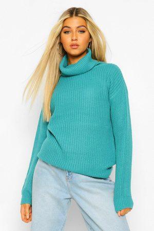 Boohoo Womens Tall Turtleneck Sweater - - 2