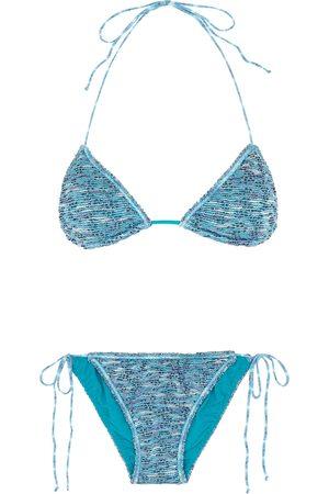 Missoni Women Bikinis - Metallic-weave bouclé bikini