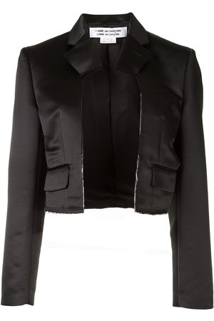 Comme des Garçons Cropped open-front jacket