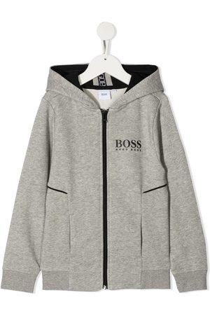 HUGO BOSS Zip-up hoodie - Grey