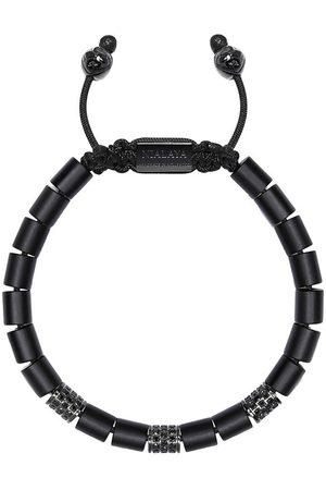 Nialaya Jewelry Onyx bead bracelet