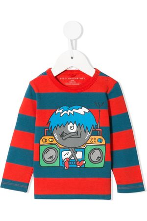 Stella McCartney Music Monster striped T-shirt