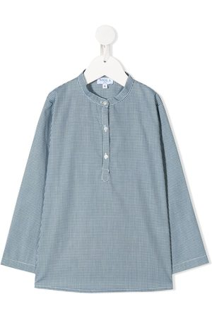 SIOLA Boys Long sleeves - Long-sleeved micro print shirt