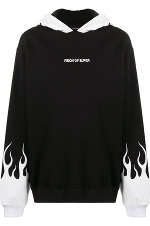 Vision Of Super Flames 2.0 relaxed-fit hoodie