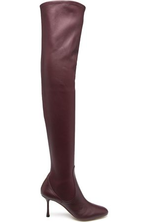 Francesco Russo Thigh-high leather boots