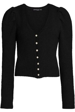 Generation Love Women's Jayleen Pearl Button Cardigan - - Size Large