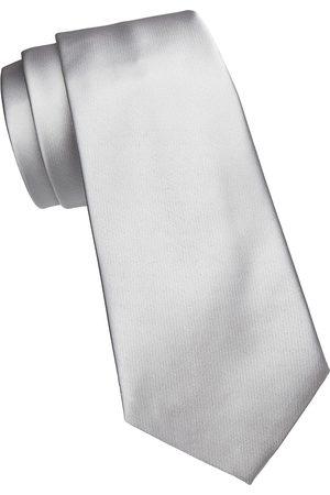 Emporio Armani Men's Solid Silk Tie