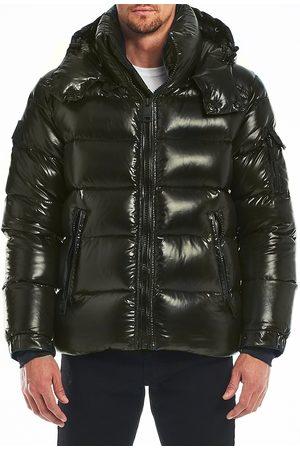 SAM. Men Puffer Jackets - Men's Glacier Down Puffer Jacket - Military - Size XL