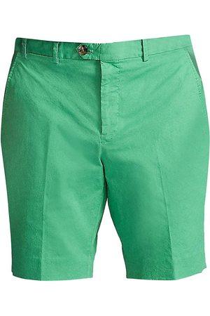 Ralph Lauren Men's Eaton Stretch-Cotton Shorts - Spearmint - Size 38