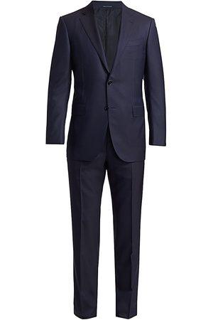 Ermenegildo Zegna Men's Trofeo Wool & Silk Suit - - Size 60 (50) L