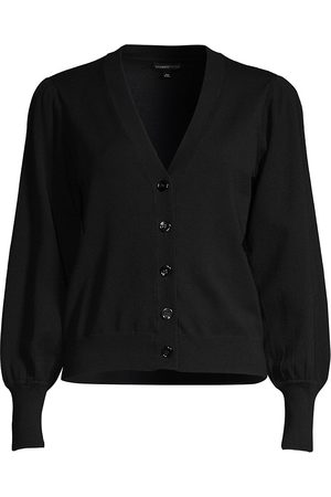 MINNIE ROSE Women's Bishop-Sleeve Button-Up Cardigan - - Size XL