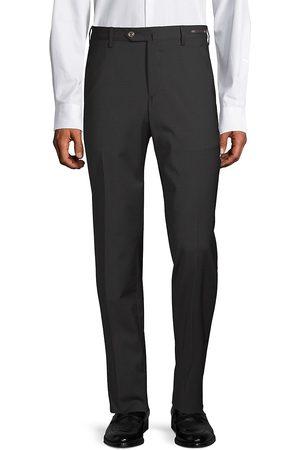 PT01 Men's Slim-Fit Traveler Wool Trousers - - Size 56 (40)