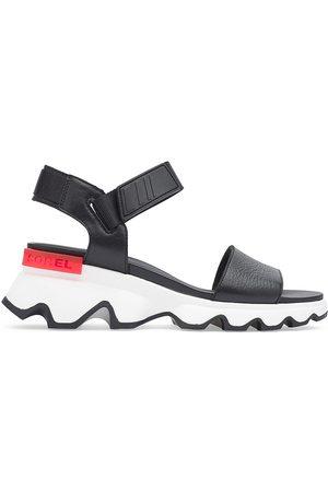sorel Women's Kinetic Leather Sport Sandals - - Size 8.5
